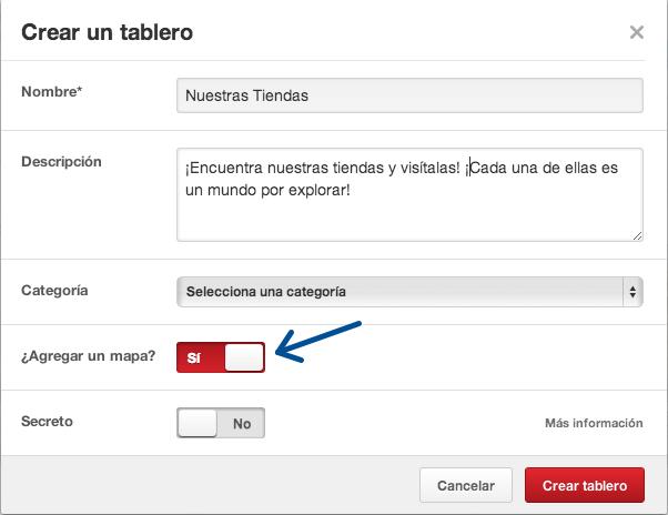Novedades en Pinterest: tableros localizados con foursquare, ARi Vigueras